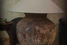 Kruiklampen en lampen Met Landelijk Label / Stoere kruiklampen die in een sober en landelijk interieur passen.