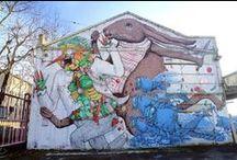 BOLOGNA STREET CULTURE / Raccolta disordinata nei luoghi e nei tempi del Writing, della Street Art, dell'Areosol Art, della Sticker art, della Stencil art, dei Murales etc. etc. a Bologna