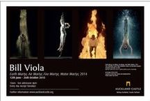 """Bill Viola – Earth Martyr, Air Martyr, Fire Martyr, and Water Martyr, 2014 / In one of the most high profile and important exhibitions to come to the North East in recent years, Auckland Castle presents a mesmerising and thought provoking  installation of four works from the """"Martyrs"""" series from one of today's most celebrated artists."""