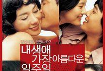 2005| All For Love  : 내 생애 가장 아름다운 일주일 / Movie: All For Love (English title) / The Most Beautiful Week In My Life (literal title) Revised romanization: Nae Saengae Kajang Areumdawun Iljuil Hangul: 내 생애 가장 아름다운 일주일 Director: Min Kyu-Dong Writer: Min Kyu-Dong, Hwang Jo-Yoon, Yoo Sung-Hyub Producer: Yun Je-Kun, Min Jin-Su, Heo Tae-Ku, Kim Hong-Baek Cinematographer: Oh Seung-Hwan Release Date: October 7, 2005 Runtime: 129 min. Genre: Romance / Ensemble Studio: Soo Film Distributor: CJ Entertainment Language: Korean Country: South Korea Per