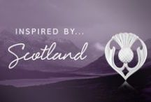 Inspired by Scotland / A collection of Sheila Fleet Jewellery inspired by the raw beauty os Scotland's landscapes.