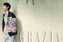 Grazia Magazine / Revista publicação coreana