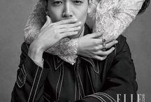 Elle Magazine / Publicação na Coreia