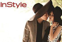 In Style Magazine / Jung Kyung-ho, Nam Gyu-ri, InStyle Korea June 2013 Editor: Kim Young-geul Photographer: Mok Na-jung Makeup: Soo Yi, Oh Hyun-yi Hair: Park Wi-han, Choi M