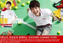 2010  Googims Company / Fotos da campanha publicitária da empresa Googims Company. Verão de 2010