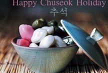 Hanbok e Chuseok / Tradicional roupa típica e tradicional feriado coreano
