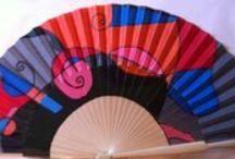 Miss abanicos / Abanicos pintados a mano por A. Martín. Se pintan por encargo.  anusca1953@hotmail.com