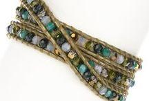 wikkel armbanden / Inspiratie en onderdelen voor het maken van wikkel armbanden