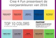 Seizoenskleuren / De mode seizoenskleuren, waardoor je je sieraden af kan stemmen op de mode
