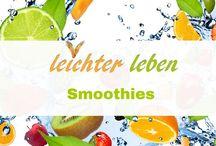 Smoothies / Grüne Smoothies zum Abnehmen . Gesundes Getränke aus Obst und Gemüse für die schlanke Figur. Fitness Smoothies machen vital und schön! Smoothie Rezepte in Deutsch.