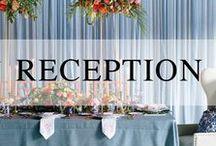 Beautiful Receptions / Wedding reception inspiration.