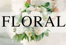 Wedding // Florals / Wedding floral inspiration from centerpieces to bouquets.