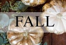 Weddings // Autumn / Fall wedding inspiration