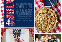 4th of July party ideas! / Celebrate the USA! / by Sherry Sayers