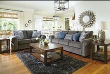 Living Room / I LOVE light colored couches...but I have a Husband and a Maltese so I can only pin my love for a white couch :-)  / by Sherry Sayers