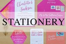 Wedding // Stationery / Wedding stationery inspiration.