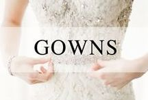 Gorgeous Gowns / Wedding gowns we're crushing on!