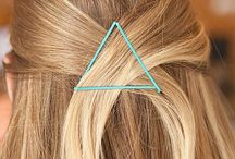 Hair / #hair #hairstyles #hairdos #haircuts #headbands #hairclips