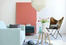 Place au pastel / Apportez de la douceur à votre intérieur en misant sur les couleurs pastels !