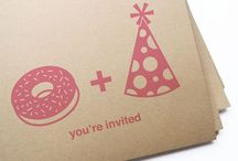 Invitations - be invited :) / #parties #invitations #celebrations #birthday #invite