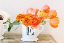 Weddings // Orange / Orange wedding inspiration