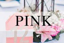 Weddings // Peach + Pink / Peach + Pink wedding details