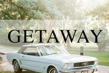 Wedding // Departures / Unique getaway cars and departure ideas for your wedding.