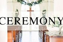 Wedding // Ceremony Inspiration / Wedding ceremony inspiration.