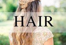 Wedding // Hair / Wedding hair inspiration
