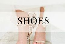 Swanky Shoes / Shoe inspiration for your wedding day.