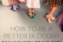 Blogging / All knd of pins related to becoming a better blogger and business woman.