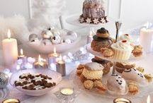 A table pour les fêtes ! / A l'occasion de Noël et Nouvel An, imaginez une table chic et festive !