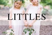 Weddings // Littles / Inspiration for the littlest members of your wedding party - kids and animals!