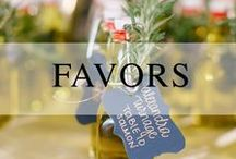 Wedding // Favors / Wedding favors for every style of wedding!
