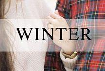 Weddings // Winter / Winter wedding inspiration