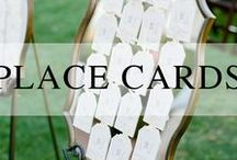 Wedding // Escort Card Displays / Place cards and escort card displays for your wedding.