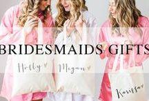 Bridesmaids Gifts / Bridesmaid gift ideas