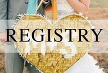 Wedding Registry / Everything you need to add to your wedding registry.