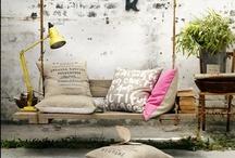 Muebles hechos con palets / Muebles hechos con palets. Ideas para hacer mesas, sofás, estanterías...