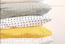 Textiles / Preciosos textiles para decorar las casa