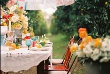Poner la mesa / Ideas para poner la mesa bonita en un picnic, bodas y celebraciones