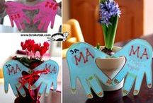 KIDS-MOTHER'S DAY CRAFTS