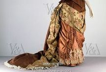 Victorian Brown Gowns 1837 - 1901 / by Elva Cawood