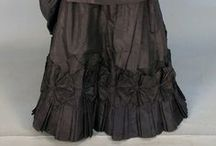 Victorian Black Gowns 1837 - 1901 / by Elva Cawood