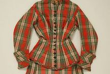 Victorian Tartan/Plaid Gowns 1837 - 1901 / by Elva Cawood
