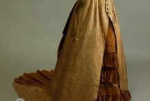 Victorian Yellow/Gold Gowns 1837 - 1901 / by Elva Cawood