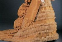 Victorian Orange Gowns 1837 - 1910 / by Elva Cawood