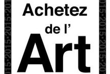 Badges Achetez de l'art / Les badges de la campagne Achetez de l'art, à intégrer à votre site ou blog