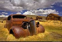 Rust...ing in pace (RIP) & Abondoned / by Sergio Mancisidor 01