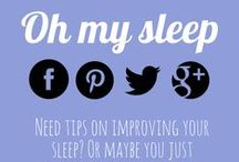 Oh my sleep / look for OhMySleep on these social media platforms